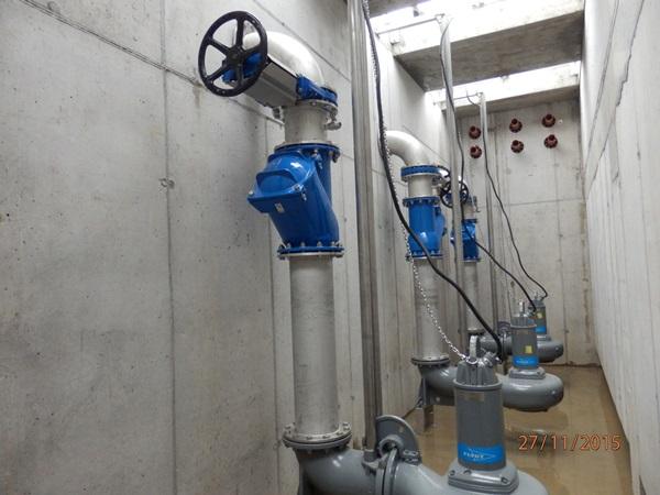 Abwasser-Hebeanlage 600l/s
